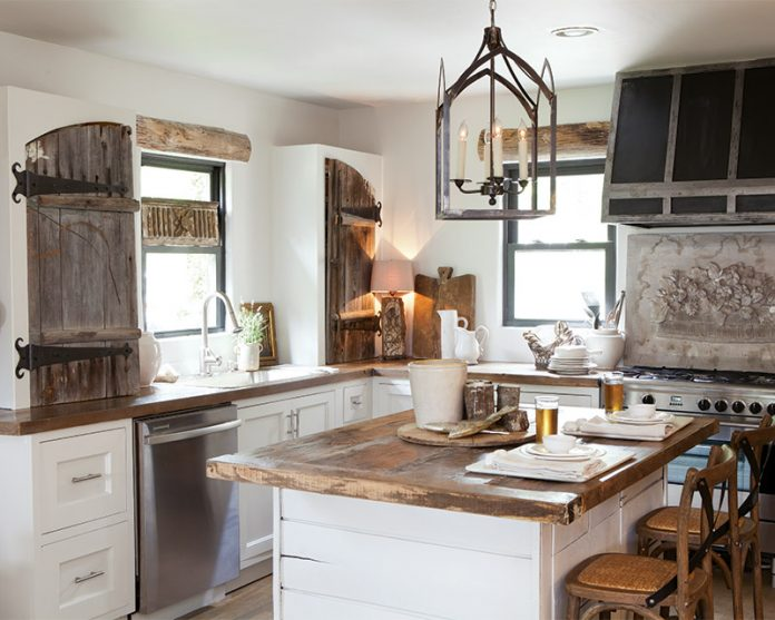 Tour This Modern Kitchen Makeover Decked With Old World Charm Cottage Journal