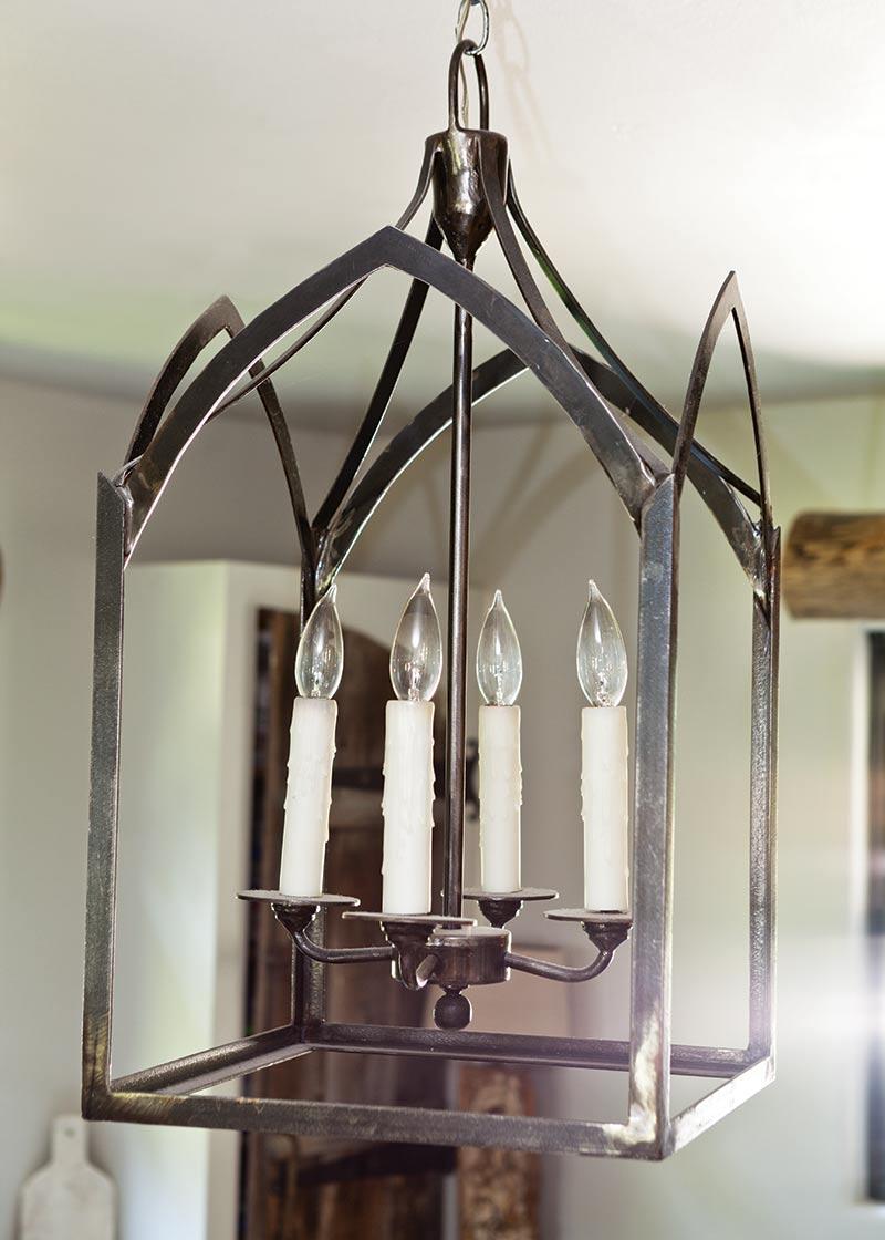 Welded Light Fixture