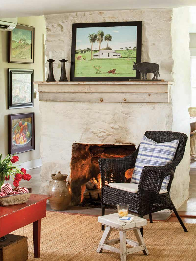 Cedar Grove fireplace