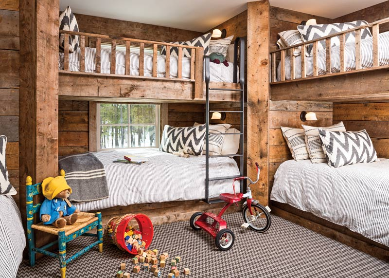 farmhouse bunk beds