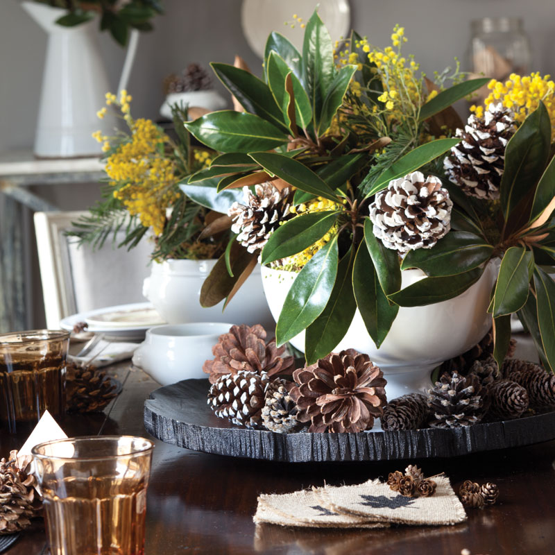 Nature-Inspired Centerpiece