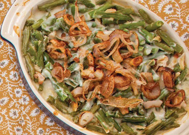 From-Scratch Green Bean Casserole