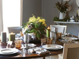 Nature-Inspired Tablescape