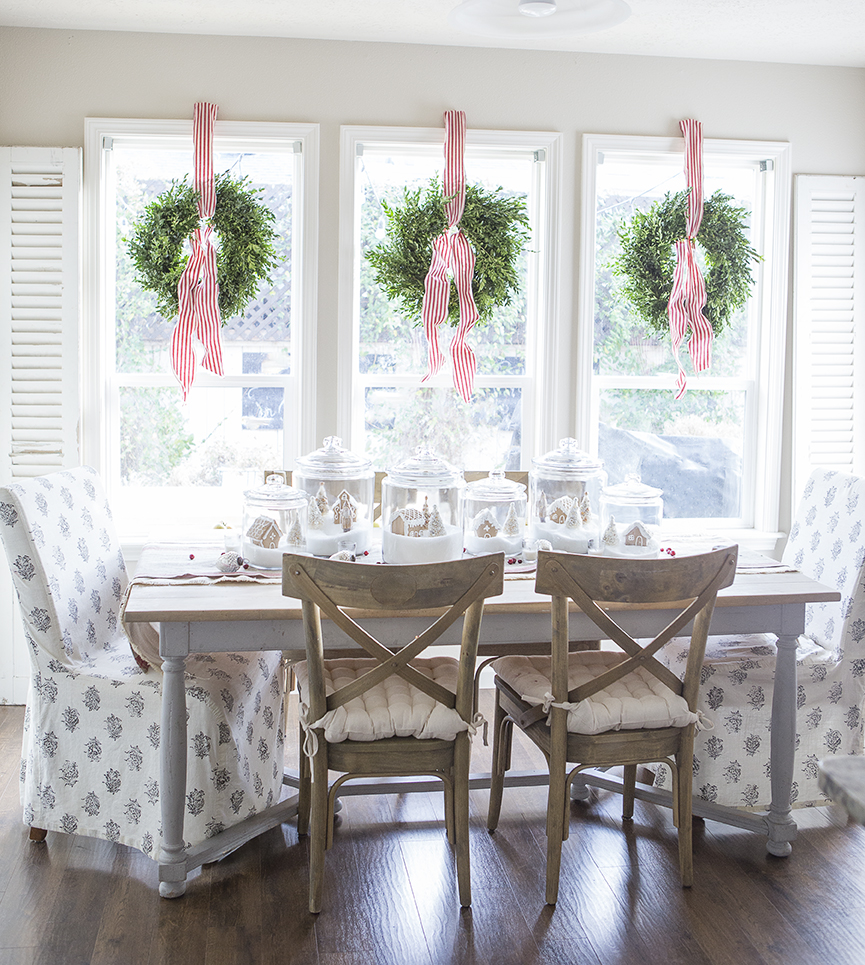 Striped Ribbon Wreaths