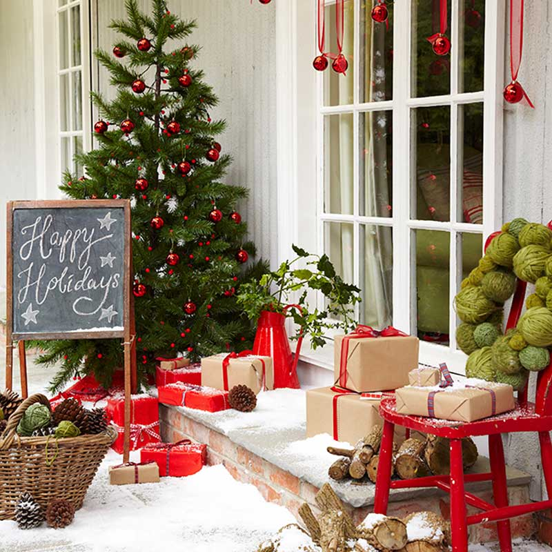 The Relaxed Home Holiday Exterior