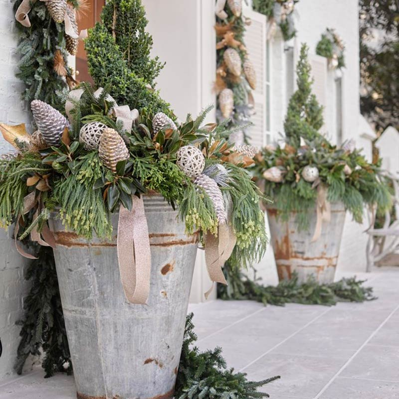 Southern Hospitality Holiday Porch