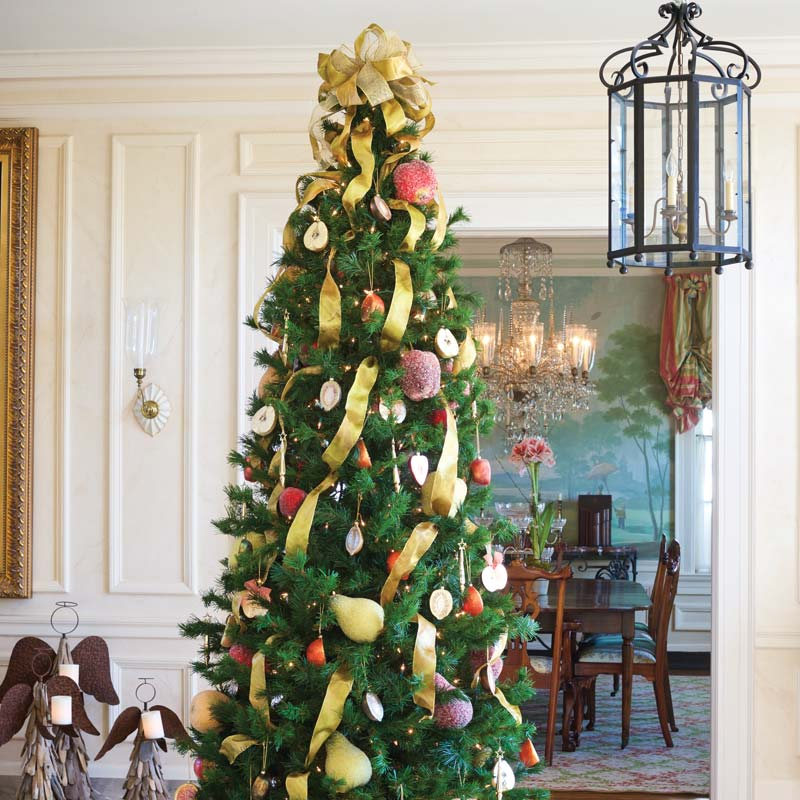 Pear Christmas Tree