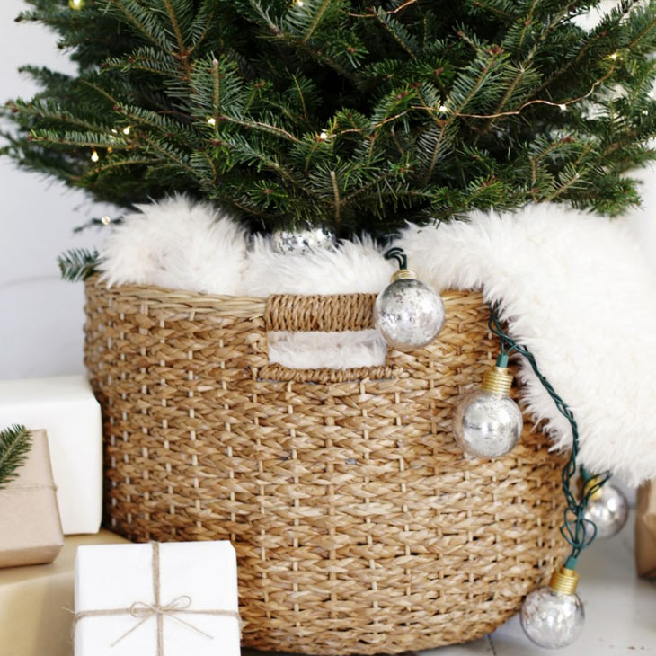 The Merry Thought Tree Basket
