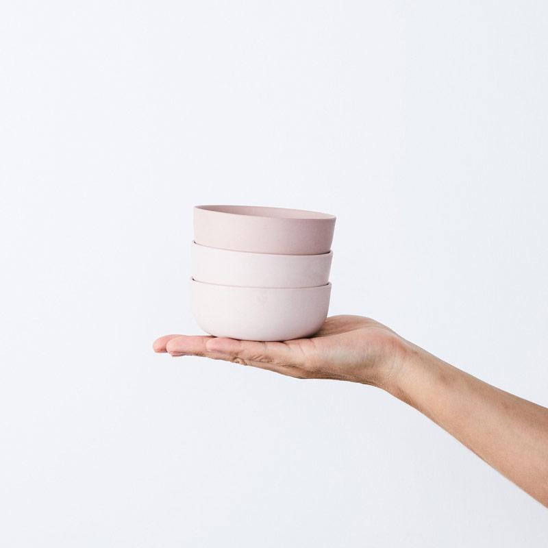 Powder Pink Bowls