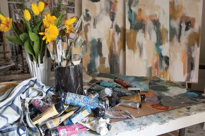 See How This Artist Finds Inspiration in Interiors