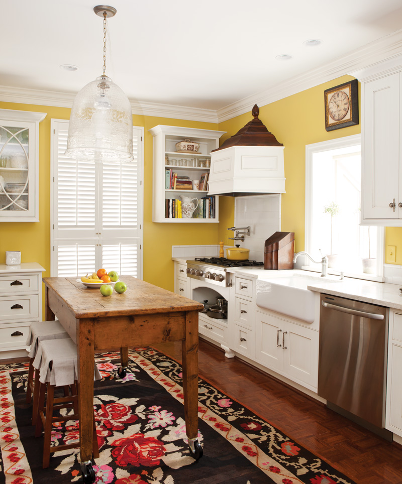 A One-of-a-Kind 1970s Kitchen Renovation