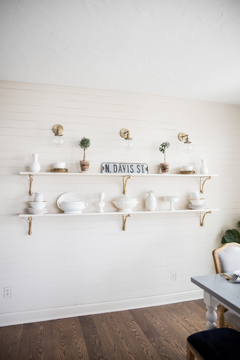 Shiplap in Kitchen