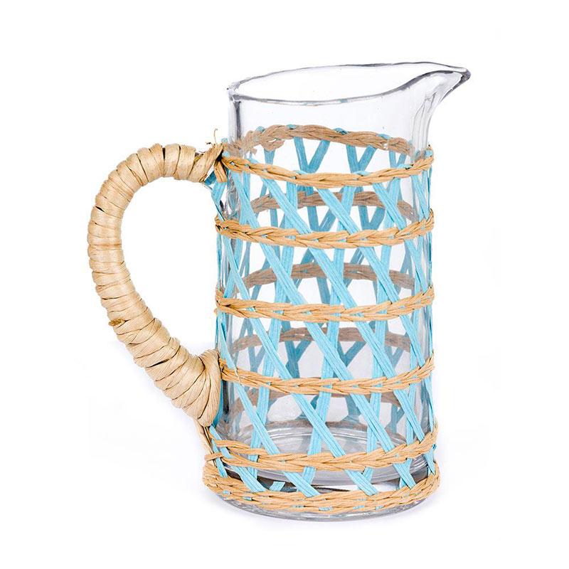 coastal inspired pitcher