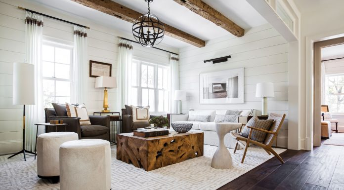 A Guest House Blend Of Modern And Rustic