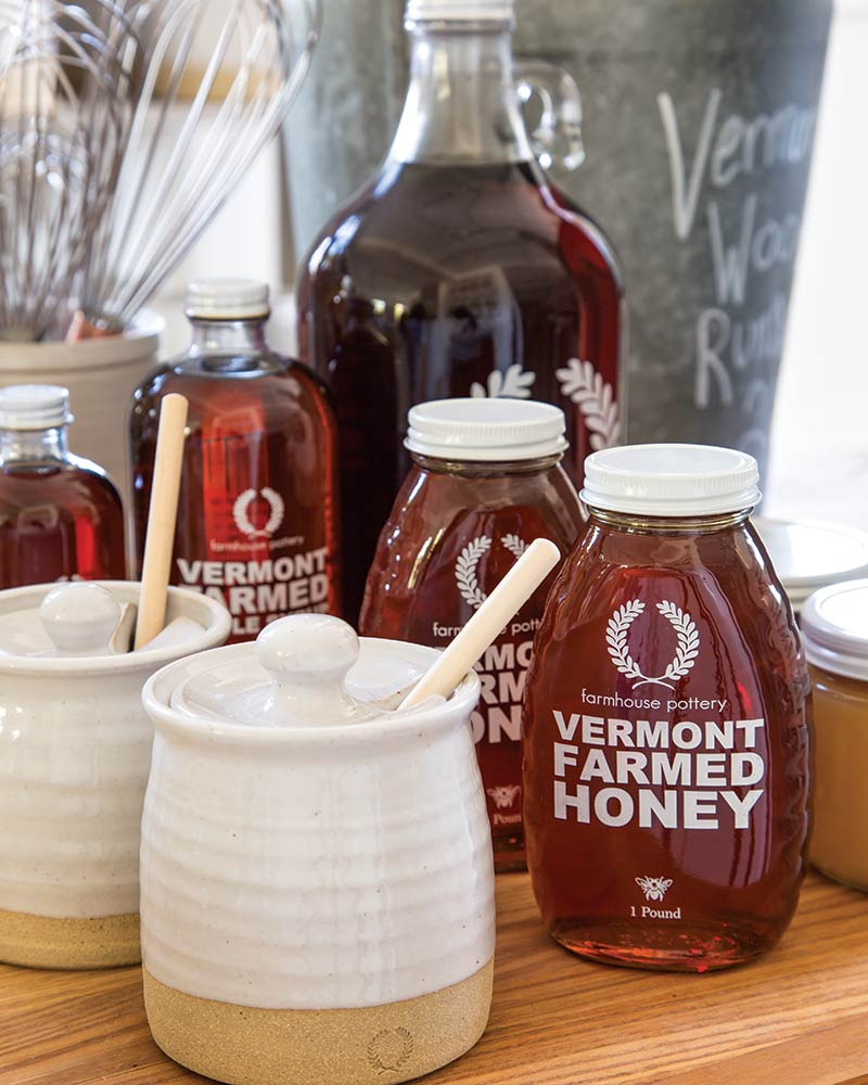 Farmhouse Pottery and honey