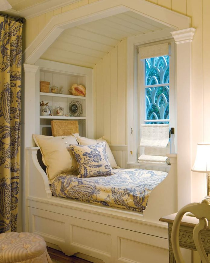 Cozy window nook