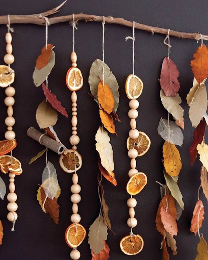 autumn decor - potpourri