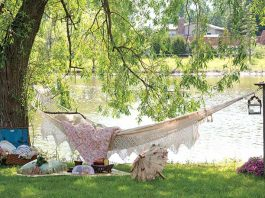 Pretty Lakeside Hammock
