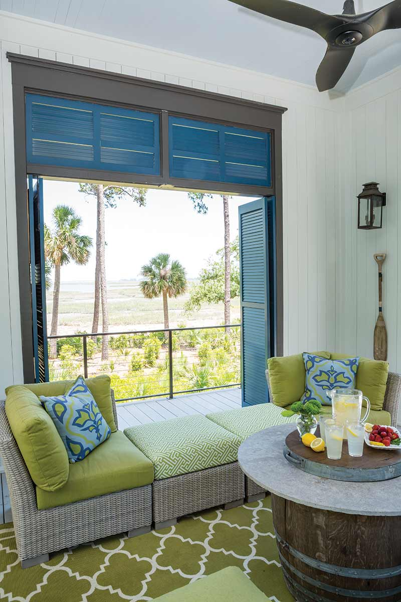 South Carolina guest cottage with a view