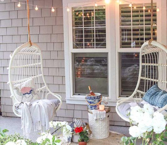Glam Front Porch