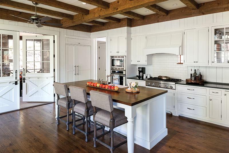 kitchen in Cashiers, NC cottage