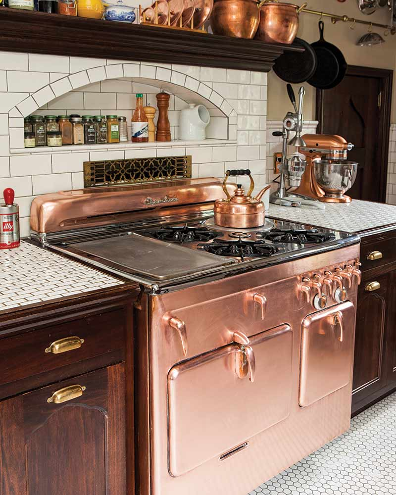 refinished copper range