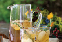 Apple cider shrub