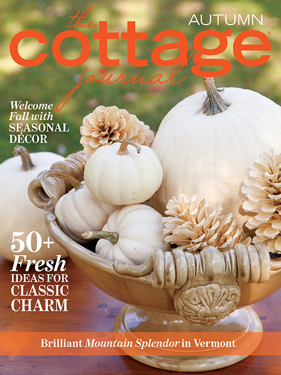 The Cottage Journal Autumn 2018 cover