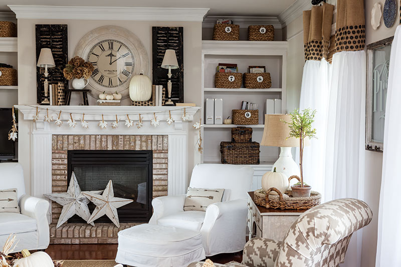 StoneGable living room