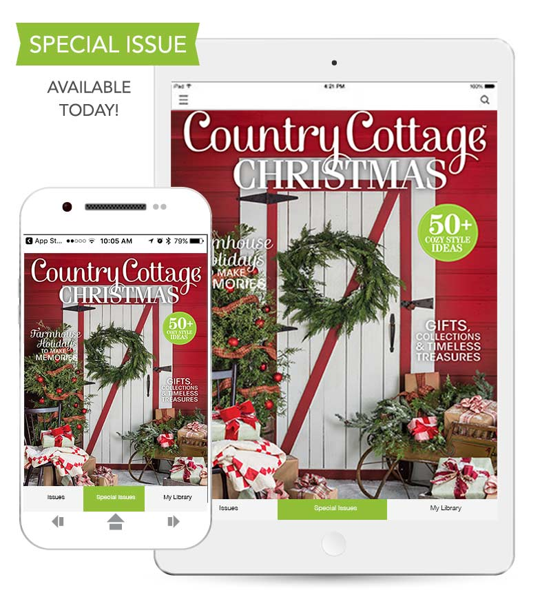 Country Cottage Christmas 2018 cover