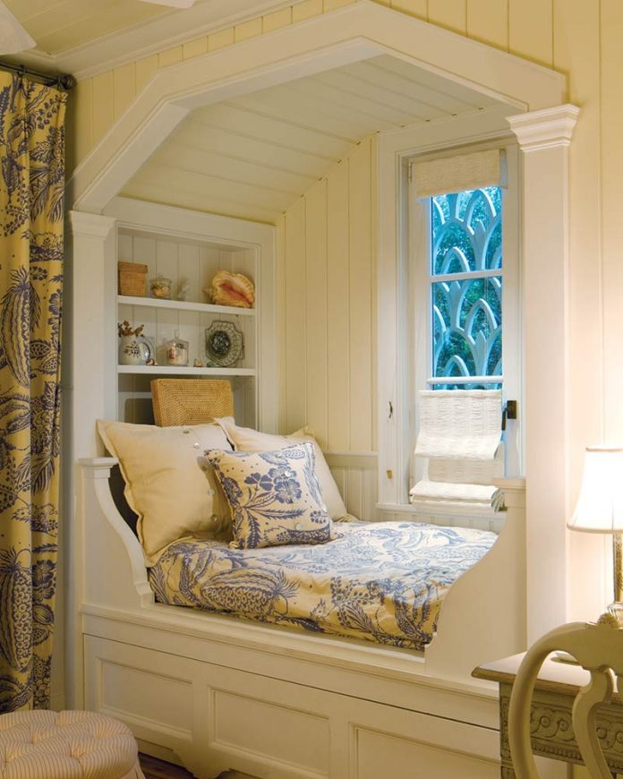 reading nook - charming niche