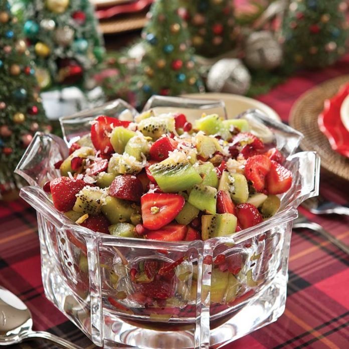 Strawberry-Kiwifruit Salad