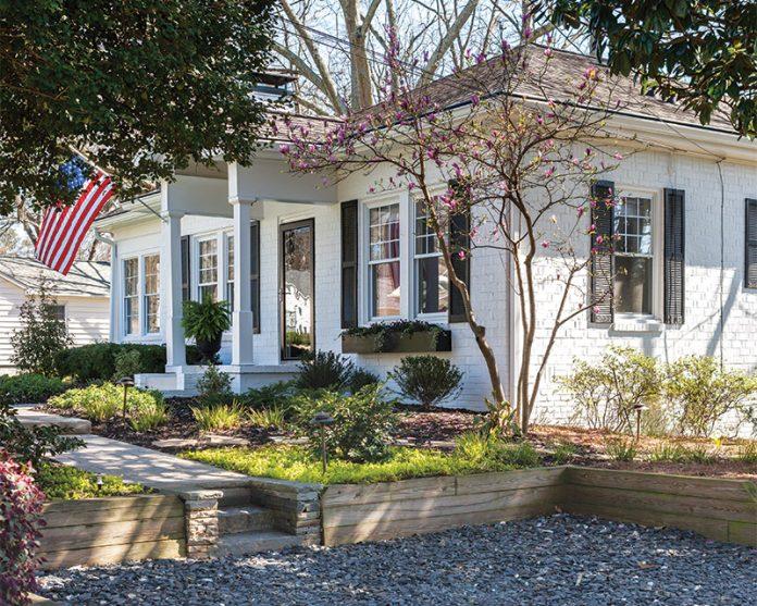 Georgia cottage exterior