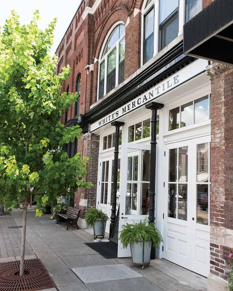 White's Mercantile storefront