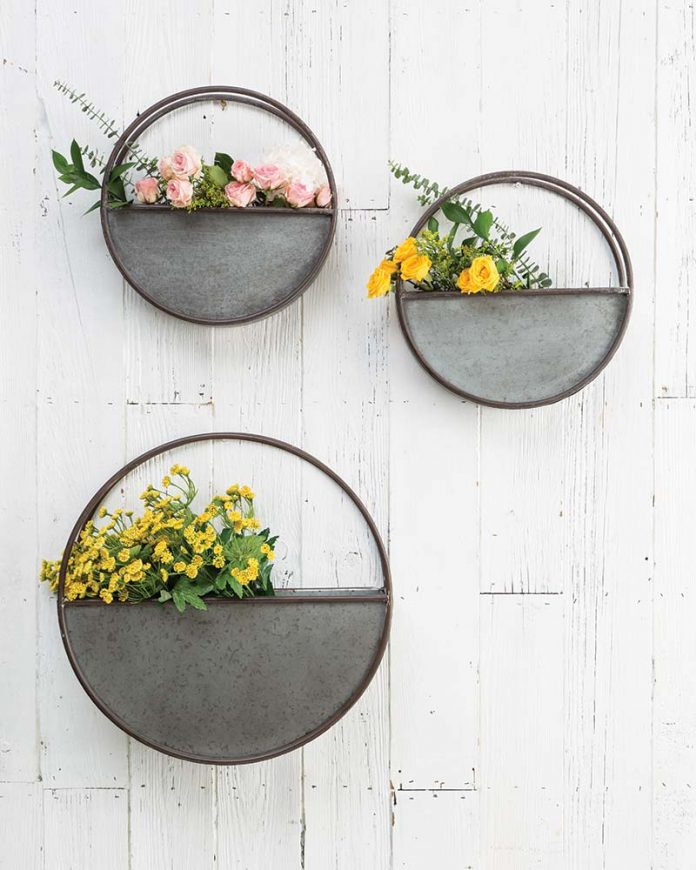 Hanging planters from Arhaus