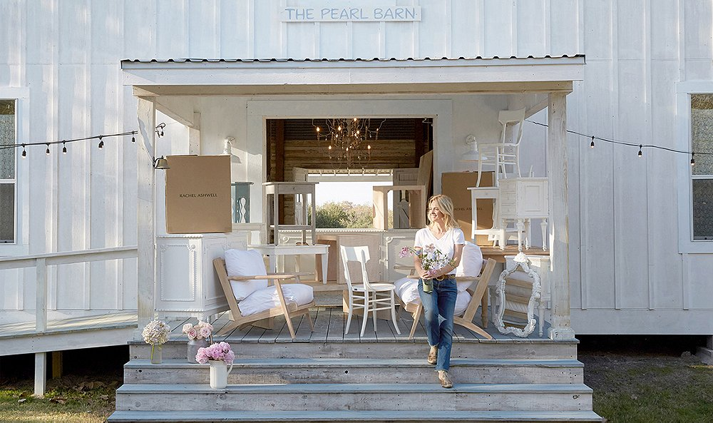 Rachel Ashwell of Shabby Chic blog