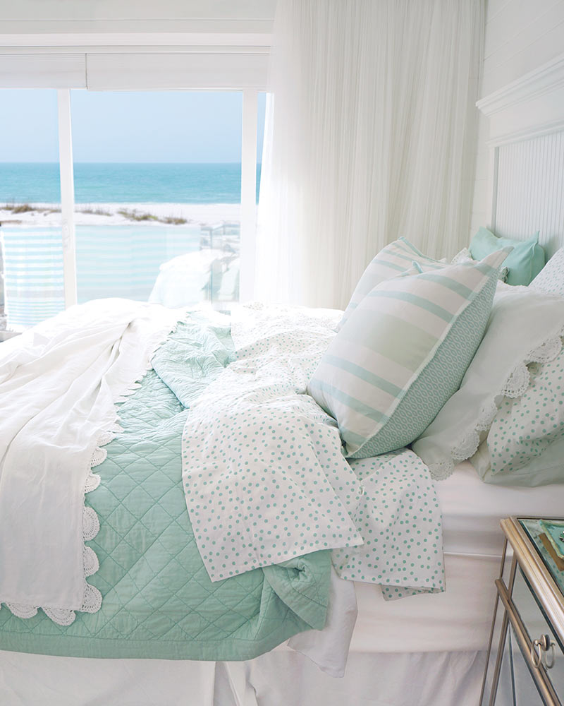 Simply by the Sea bedroom