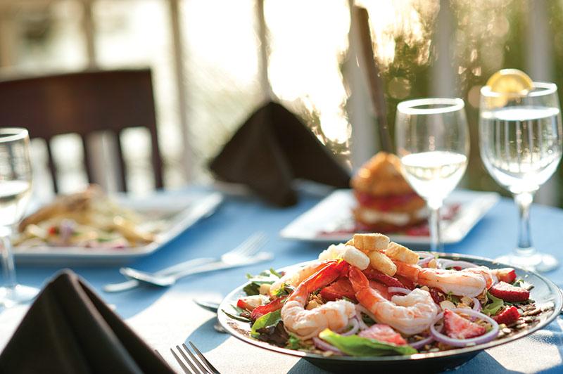 The Crystal Coast - Shrimp Salad