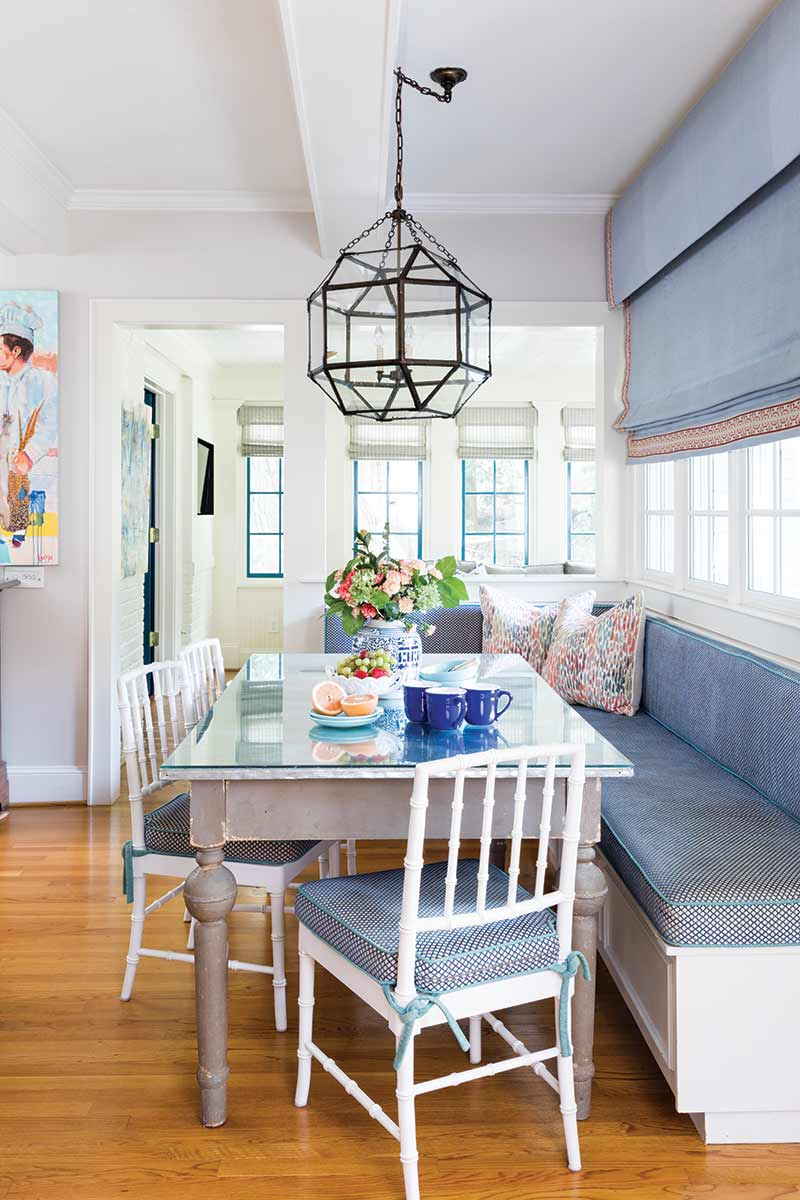 booth style breakfast nook