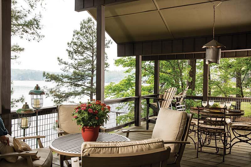 Lake Martin patio