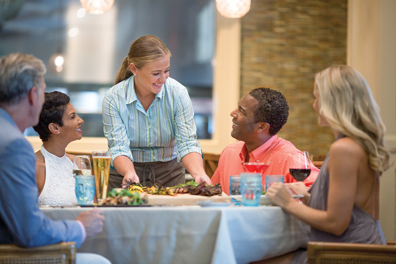 The Henderson resort restaurant
