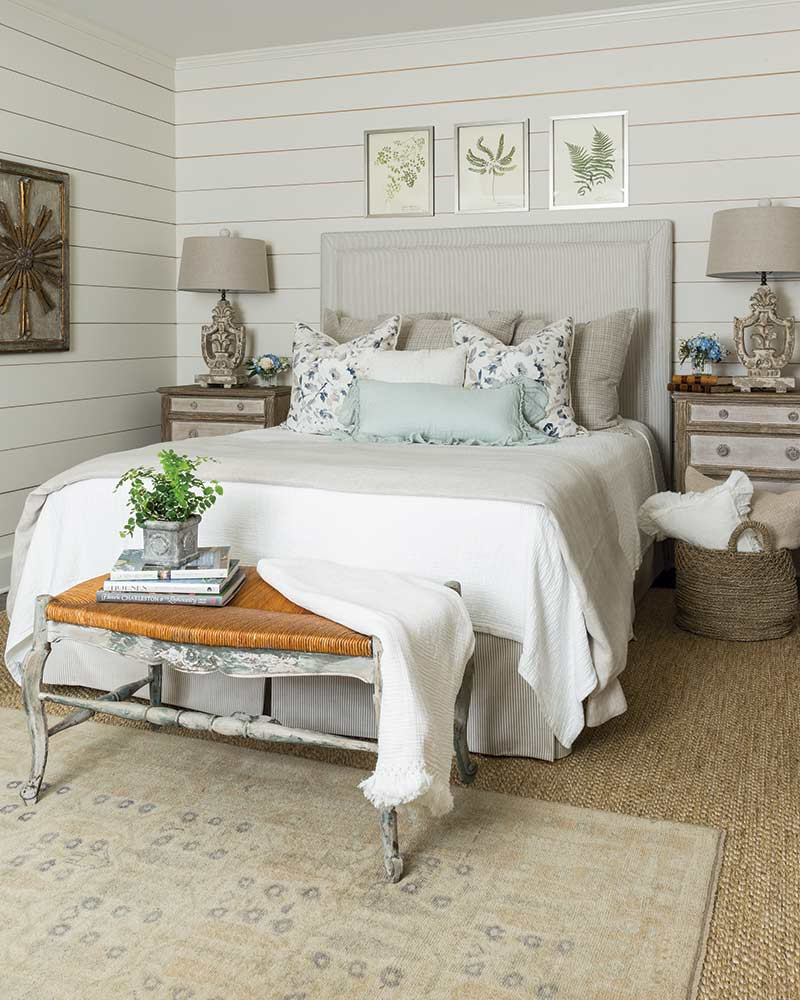 serene farmhouse bedroom