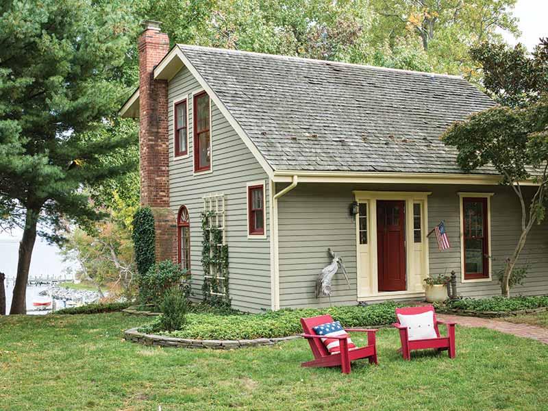 river cottage exterior