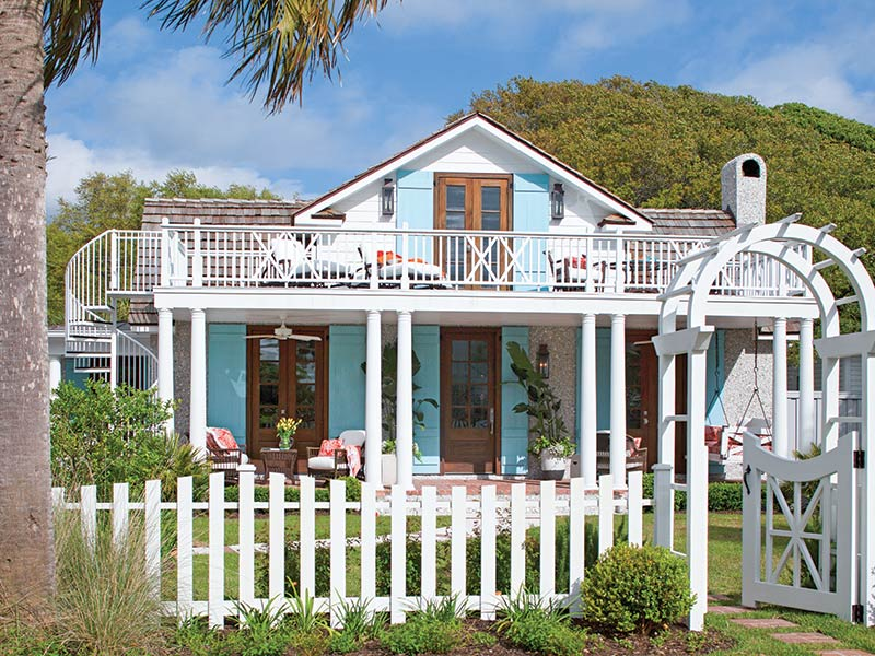 1930s beach cottage exteriors